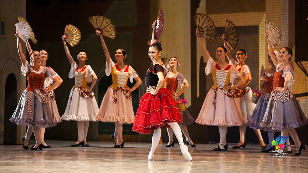 «Дон Кихот» на сцене Бурятского театра оперы и балета