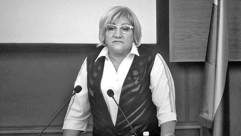 Секретарь бюро иркутского реготделения (ИРО) партии Лариса Егорова