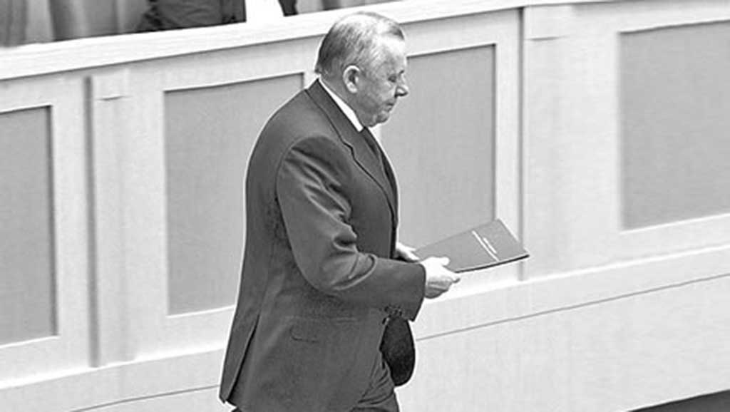 Сенатор Виталий Шуба