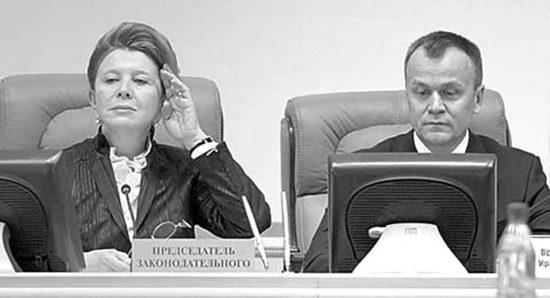 Людмила Берлина предложила повременить с поддержкой губернаторской инициативы. Фото Евгения Козырева
