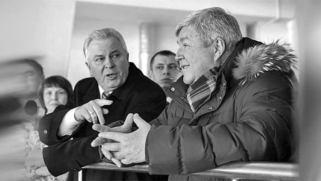 Полномочный представитель президента России в СФО Николай Рогожкин и глава Бурятии Вячеслав Наговицын