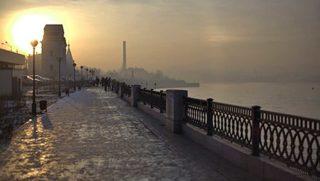 Задымление в Иркутске