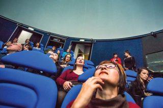 Официально открывшийся в феврале этого года музейно-планетарный комплекс «Ноосфера» поражает воображение всех, кто впервые в нем оказался. Фото Евгения Козырева