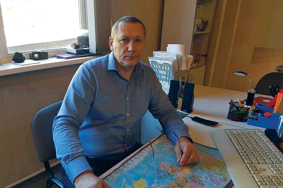 Генеральный директор компании «Листэкс» Вениамин Наумов