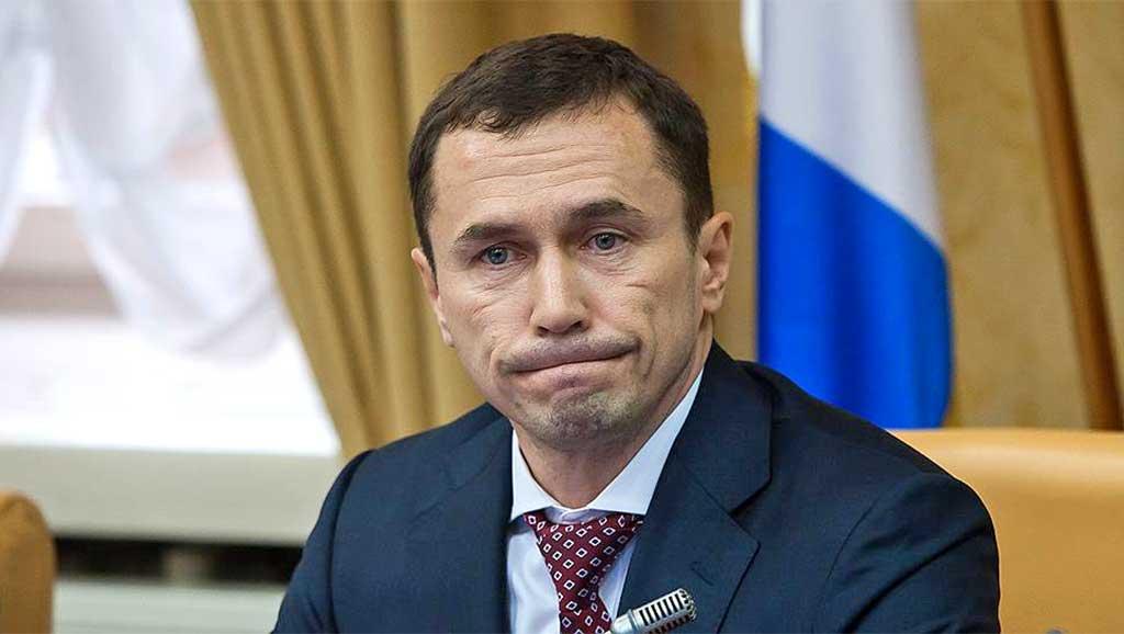 Мэр Иркутска Дмитрий Бердников. Фото Евгения Козырева