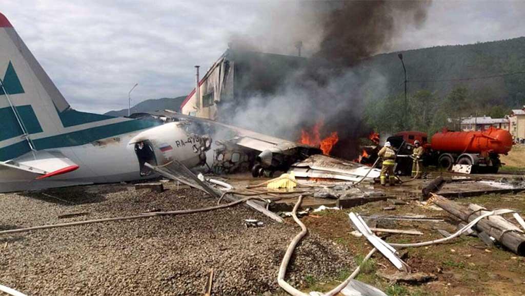 Авиакатастрофа в поселке Нижнеангарск