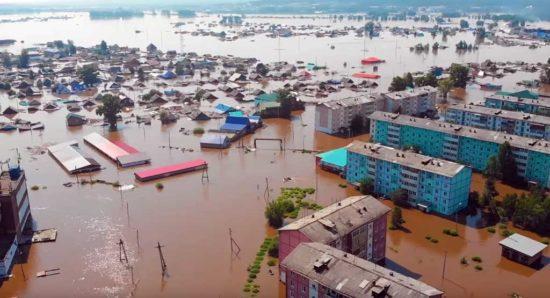 Тулун, наводнение