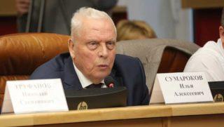 Депутат ЗС Иркутской области Илья Сумароков