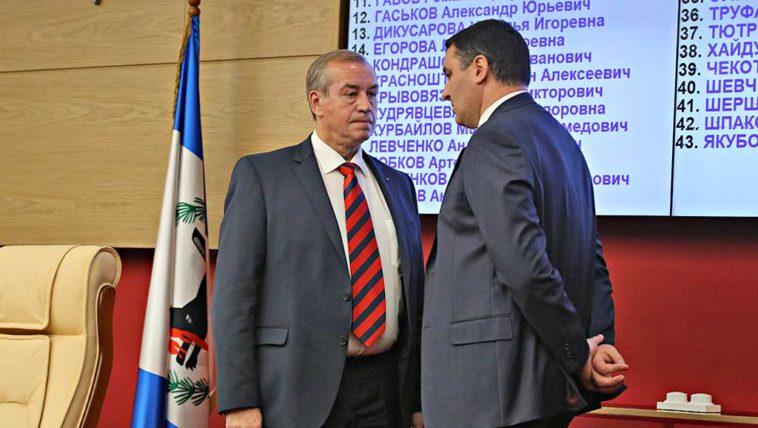 Сергей Левченко и Руслан Болотов. Фото Евгения Козырева