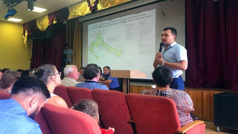 Общественные слушания по генплану Марковского муниципального образования