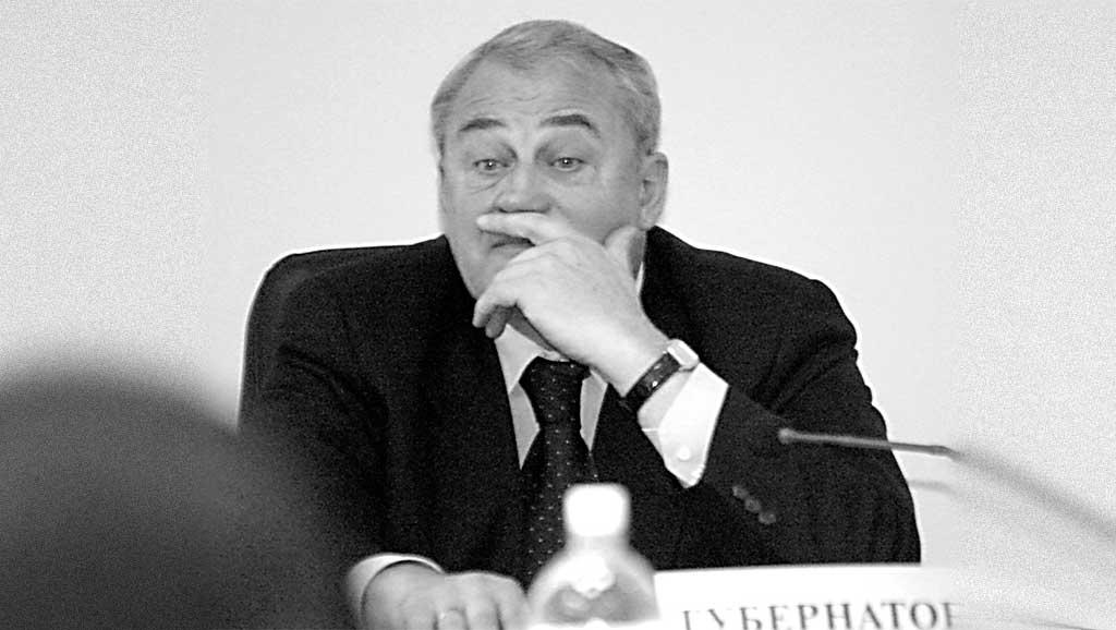 Губернатор Иркутской области Борис Говорин