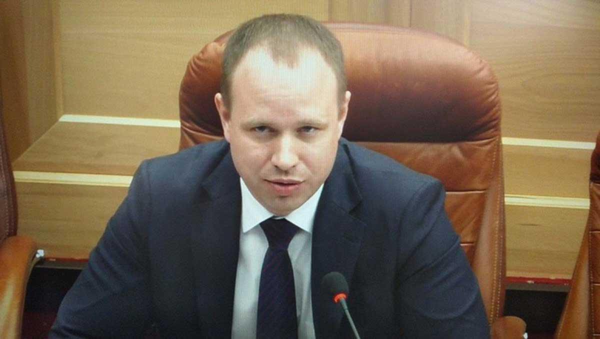 Руководитель фракции КПРФ в Законодательном собрании Иркутской области Андрей Левченко
