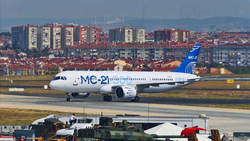 MC-21 в Стамбуле