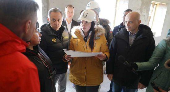Виталий Мутко высоко оценил ход работ по строительству микрорайона в Черемхово для пострадавших от наводнения