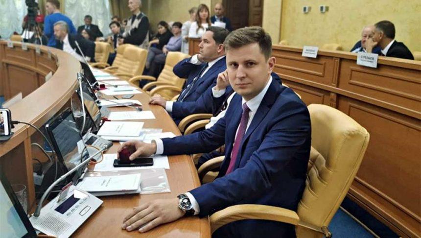 Председатель думы Иркутска Дмитрий Ружников