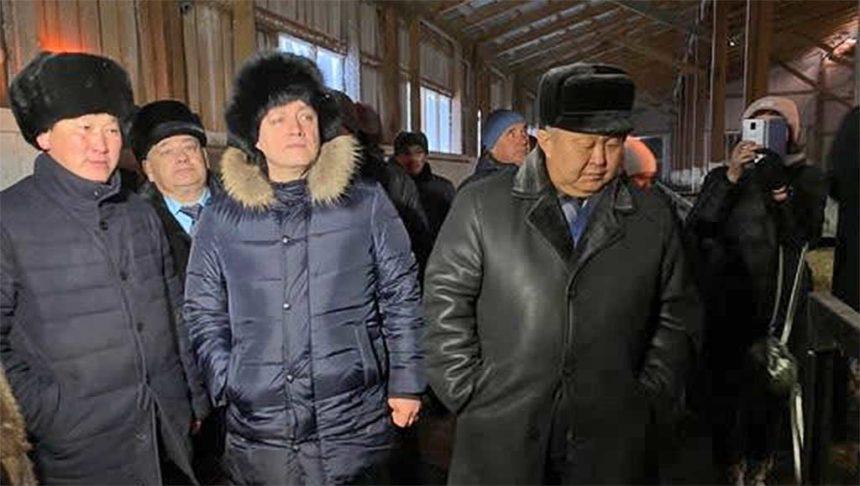 Игорь Кобзев в Эхирит-Булагатском районе