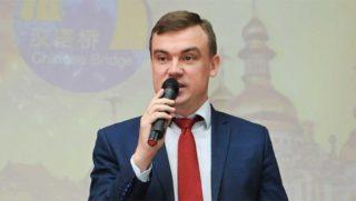Руководитель управления культуры, туризма и молодежной политики Иркутска Антон Чернышов.