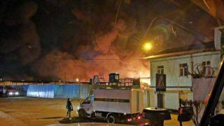 Пожар в исправительной колонии №15