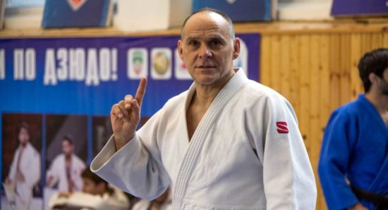 Главный тренер сборной России по дзюдо Эцио Гамба