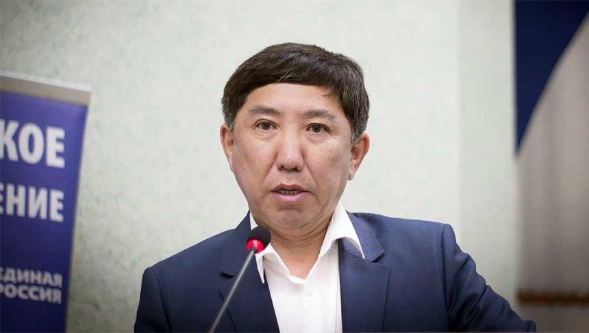 Вице-спикер республиканского парламента Баир Жамбалов