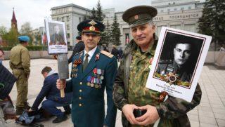 День 75-летия Победы в Иркутске