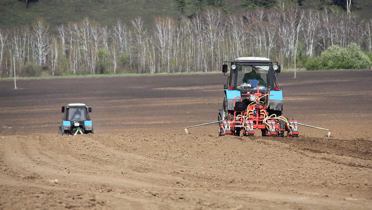 Автоматический полив полей и робоферма
