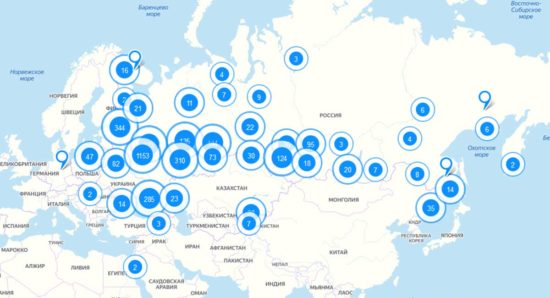 Карта бизнеса, терпящего бедствие