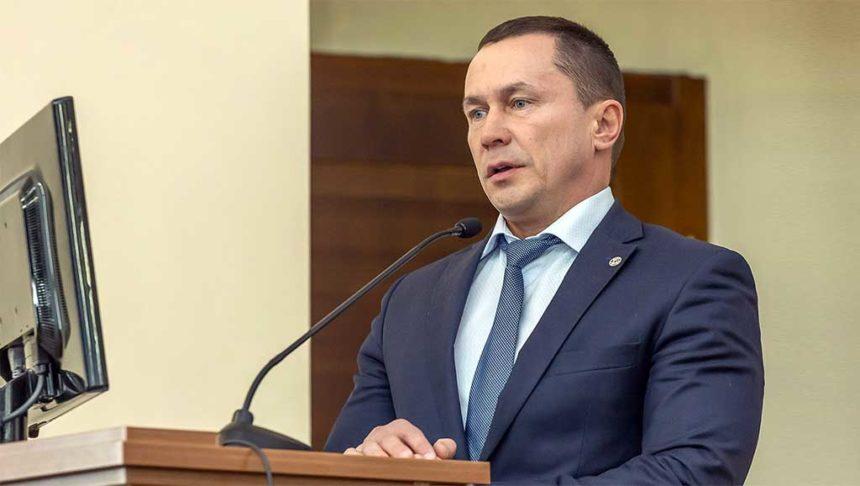 Экс-мэр Иркутска Дмитрий Бердников