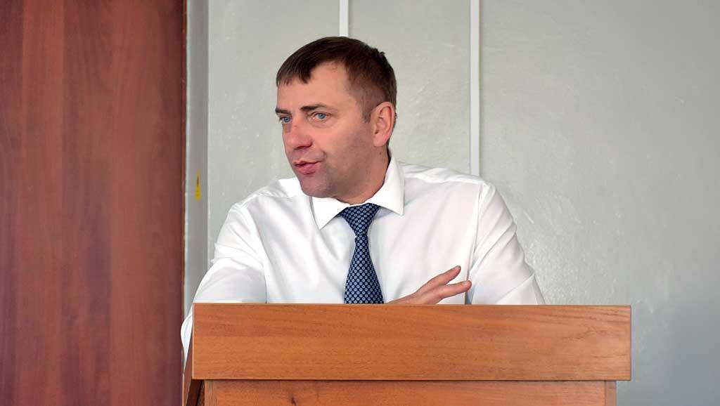 Мэр Бодайбо Евгений Юмашев