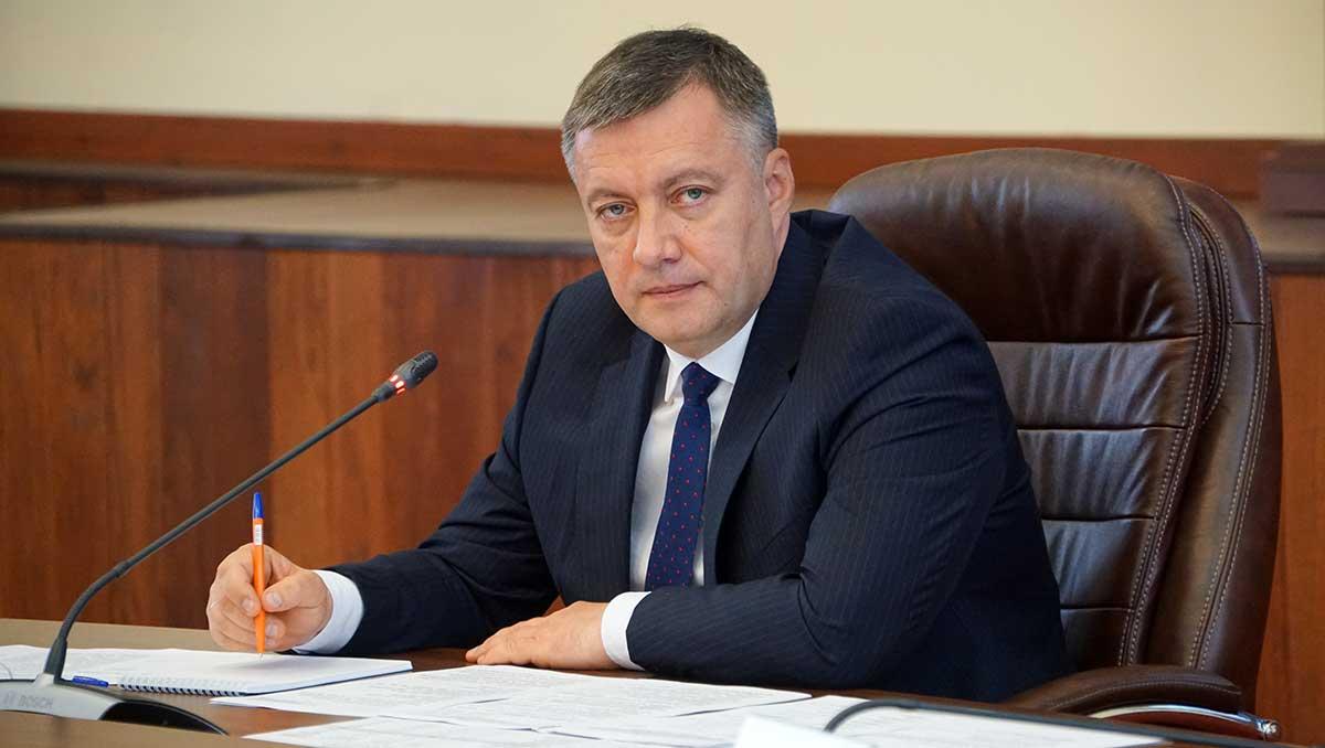 Исполняющий обязанности губернатора Иркутской области Игорь Кобзев