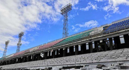 О спортивных стройках и будущем иркутского футбола