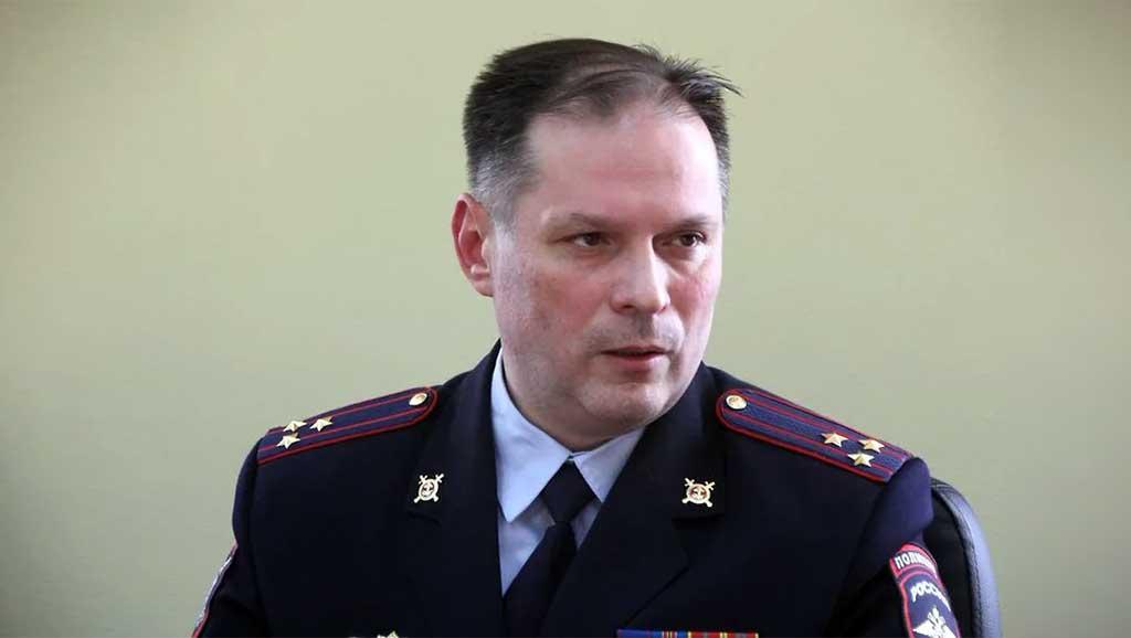 Начальник УМВД по Забайкальскому краю Александр Щеглов