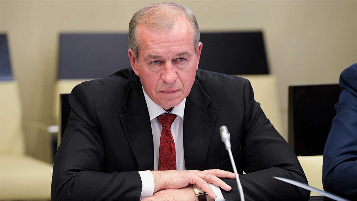 Бывший губернатор Иркутской области, первый секретарь обкома КПРФ Сергей Левченко