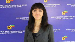 Глава забайкальского минздрава Анна Шангина